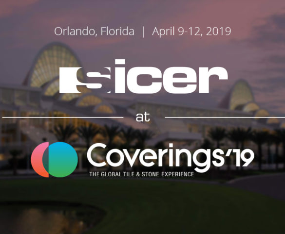 Sicer participa en Coverings 2019.
