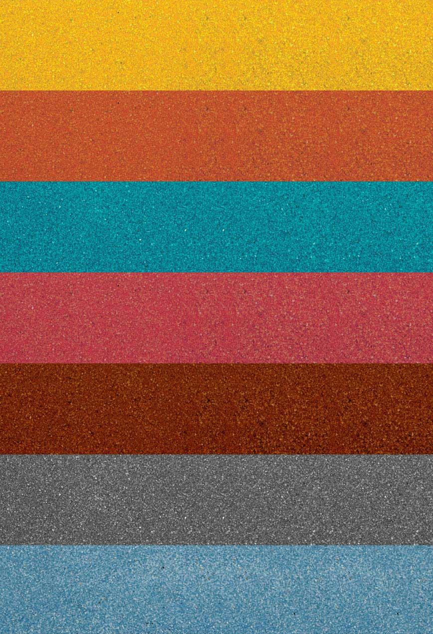 SERIE HP: granillas y microgranillas coloreadas en fusión para gres porcelanico